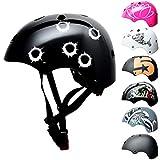 SkullCap® Kids BMX & Skate Helmet - Bicicleta Y Scooter Eléctrico, Diseño:...