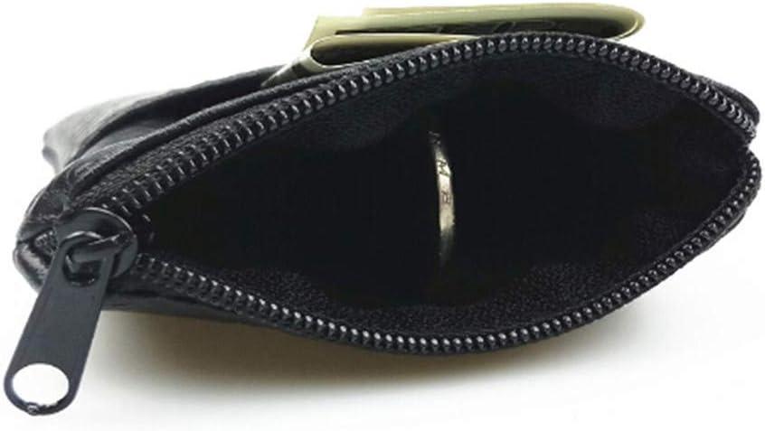 Sperrins Mini Wallet Card Passport Holder Men Wallet Black PU Leather Coin Purse Pouch