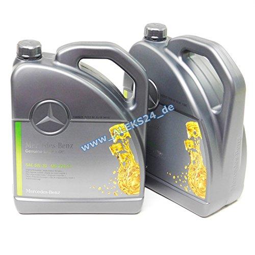 Aceite de motor original Mercedes-Benz 5W30
