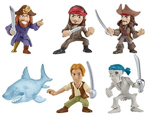 Disney- Pirati dei Caraibi Mini Personaggi, 6035321