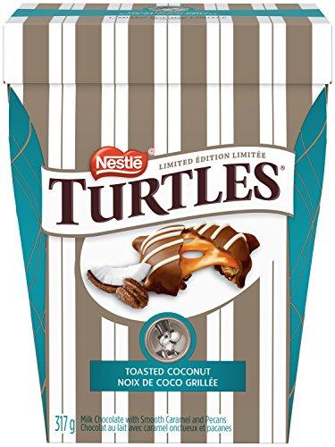 NESTLÉ TURTLES Toasted Coconut Chocolates; 317g Box