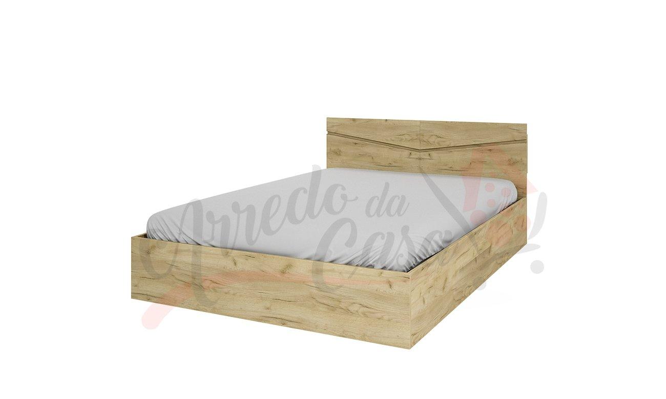 wenge Arredodacasa.com Letto con Contenitore Modello LI2003