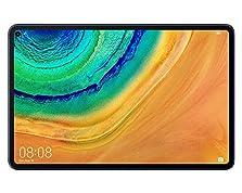 HUAWEI MatePad Pro Wifi Tablet-PC, 10,8 Zoll 2.5K FullView Display, Kirin 990, Huawei Share, Wireless Charging, 4 Speaker, Android 10.0, 6 GB RAM, 128 GB ROM, ohne Google Play Store, Midnight Gray©Amazon