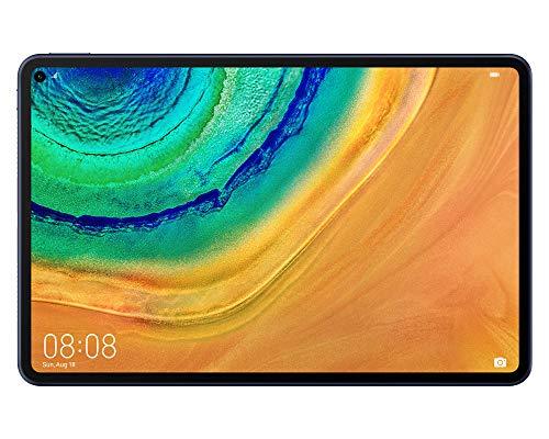 HUAWEI MatePad Pro - Tablet de 10,8 Pulgadas (Wi-Fi, Pantalla FullView, Kirin 990, Huawei Share, Carga inalámbrica, Android 10.0, 6 GB de RAM + 128 GB de ROM, sin Google Play Store-Midnight Gray