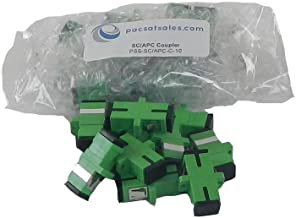 PacSatSales - Fiber Optic Couplers and Adapters - ST, SC/APC, SC, LC, FC - Industry Proven - Singlemode. (SC/APC to SC/APC)