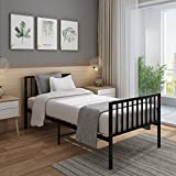 Best Twin Platform Bed - Panana 4FT Small Double Metal Bed Frame Thicker Review