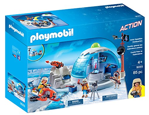 PLAYMOBIL- Cuartel Polar de Exploradores 9055