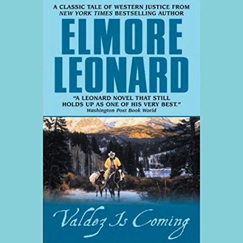 Valdez is Coming audiobook cover art