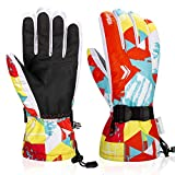 Anqier Ski Gloves,Waterproof Winter Gloves Snowboard Gloves 3M...
