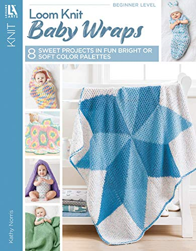 Loom Knit Baby Wraps | Leisure Arts (6667)