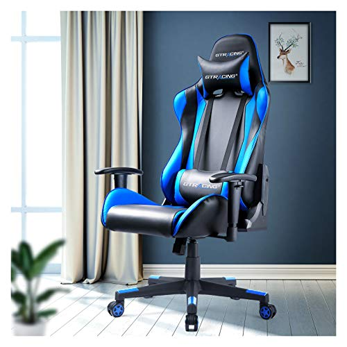 GTRACING Gaming Chair Racing Office Computer Game Chair Ergonomic Backrest and...