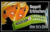 Generisch Wrigleys Wrigley's Chewing Gum Chewing Gum - Cartel de chapa para mujer, 3D, curvado, metal, 20 x 30 cm