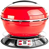 Cook-Air EP-3620RD Wood Fired Portable Grill, Red