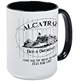 CafePress ALCATRAZ BB Mugs Coffee Mug, Large 15 oz. White Coffee Cup