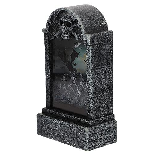 EXCEART 1 Pieza de Lápida para Halloween Lápida Lápida LED para Halloween Lápida para...