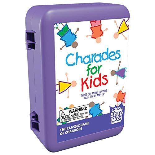 Pressman Charades for Kids Snap Box