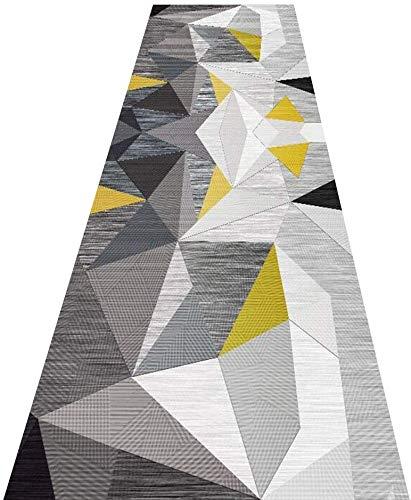 Tapijt Runners Corridor tapijt trap Runner lange kunststof voor hal, anti-slip tapijt ideaal voor keuken, slaapkamer, trap, gang,Home Hotel Office lange tapijt