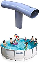 Summer Waves Elite T-fitting for Metal Frame Round Pools (OVAL) (14 FT)