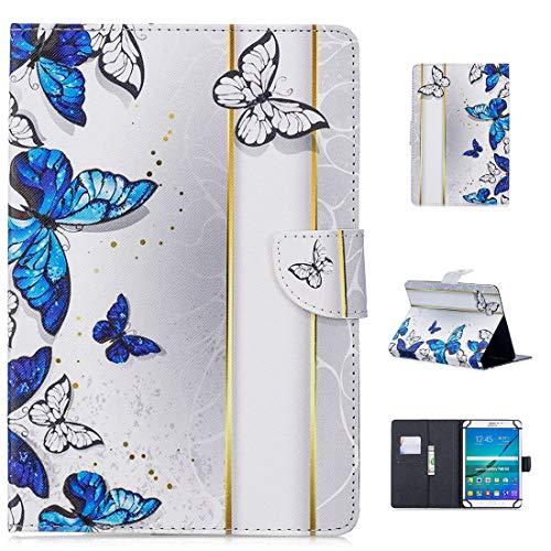 MYTHOLLOGY Universal für 10 Zoll Tablette Hülle, Stoßfest Hülle Hülle Ständer Schutzhülle Kompatibel mit HP Pro Slate 10 EE G1 /HP Touch Pad (4G) /ASUS Memo Pad FHD 10 - AB10