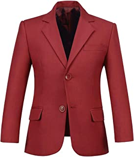 Boys Blazer Formal Dress Wedding Boy Jacket Suits