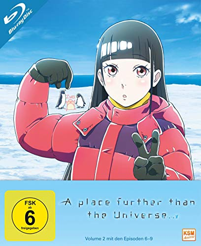 A Place Further Than The Universe - Volume 2 (Episode 6-9) [Blu-ray]