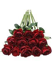 Tifuly Konstgjorda silke rosor