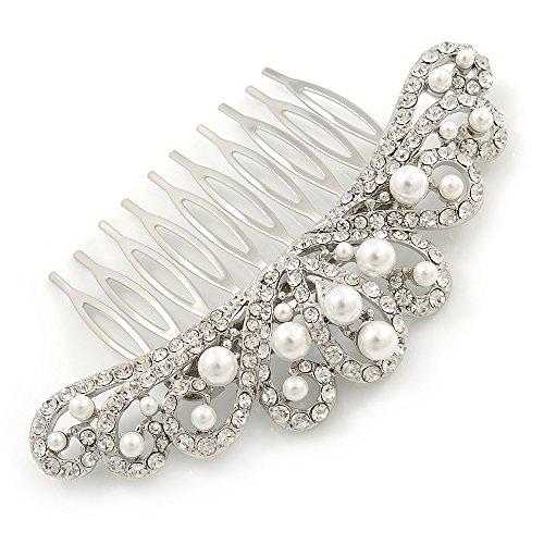 Suite/boda/diseño de vestido de fiesta/chapado en rodio de fiesta Cristal austríaco transparente,...