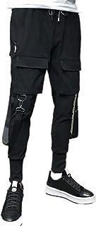 Xmiral Pantaloni Tuta Uomo Pantaloni Comodi di Moda Multi-Tasca di Utensili Casual di Nuovo Stile