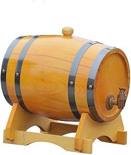 Tonneau à vin en bois Casier à vin en bois, Bois vintage Baril de vieillissement en bois de chêne Fût de whisky Pratique e...