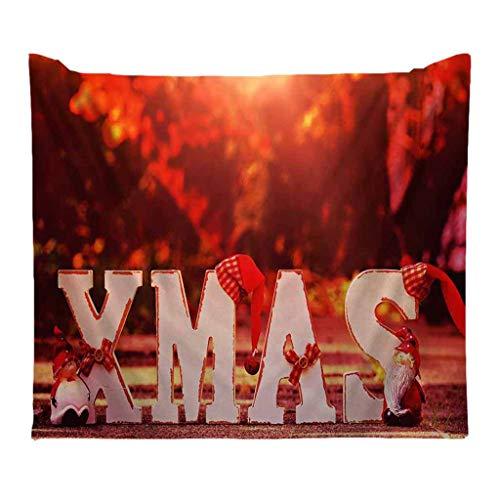 powerFul-LOT Christmas Decoration FestivalHome Decor,Christmas Tapestry Santa Print Wall Hanging Tapestry ArtNew Faishon Room Scenery