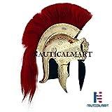 Nautical MART Roman Armour disfraz de piródromo guardia romana casco con placa roja