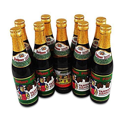 Rothaus Pils Tannenzäpfle MEHRWEG (9 Flaschen Bier à 0,33 l / 5,1 % vol.)