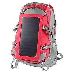 Solar-Rucksack mit Batterielade 5000mAh Akku Energien-Bank von Global Care Market