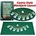 Trademark Poker 405694 Blackjack Layout