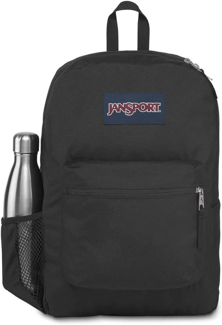 Jansport | Cross Town Backpack (Black - One Size)