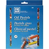 Loew-Cornell 925 Oil Pastels, 36-Count