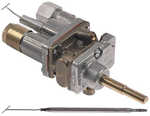 COPRECI MT7200 Gasthermostat für Gasherd Falcon G3161, G3161D Gaseingang Rohrflansch ø21mm (ø 8mm) Gasausgang M16x1,5 41,5/20mm