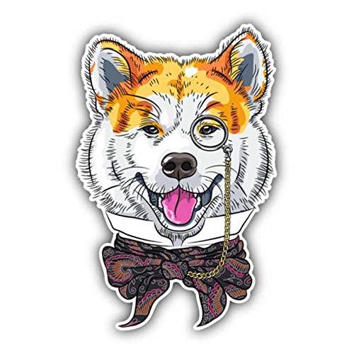 Accesorios de la Etiqueta engomada del Coche del Perro de la Personalidad de Hen JIA, Cubierta de la Motocicleta, Impermeable, PVC, 15 cm x 10 cm