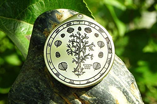 Alder necklace. Celtic sings and Oghams jewelry. Celtic Tree astrology horoscope (March 18 – April 14)