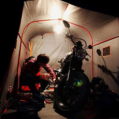 DOPPELGANGER(ドッペルギャンガー)『ストレージバイクガレージ(DCC330L-GY)』