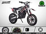 Pocket Cross Électrique 500W - Mini Moto Enfant RX 500 - DIAMON - Limited Edition 2020 - Rouge