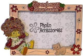 Strawberry Shortcake Picture Frame - Strawberry Shortcake Glass Photo Frame (6.5 x 5 Inch)