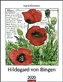Hildegard von Bingen. Wandkalender 2020. Monatskalendarium. Spiralbindung. Format 30 x 39 cm - Weingarten