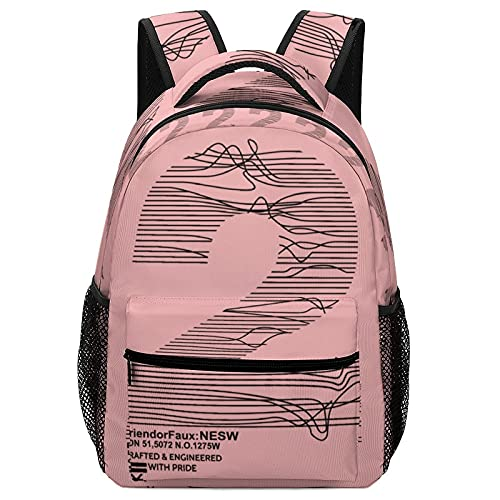 Mochila de tela Oxford para niños Always Brave Awesome School Backpack para niñas, hombro ajustable impermeable, White-new York 2 With Pride2, Talla única, Mochila de...