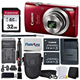Best Point And Shoot Cameras - Canon PowerShot ELPH 180 Digital Camera (Red) + Review