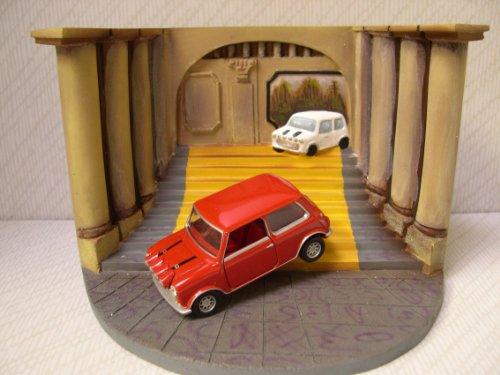 Corgi 1/36 Scale Diorama CC82217 - The Italian Job With Red Mini