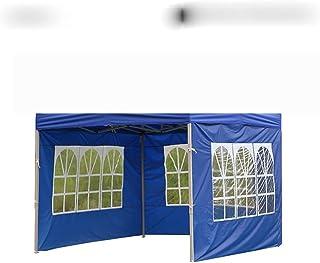 Bärbart utomhustält Oxford tyg sidovägg regnsäker vattentät tält lusthus trädgård skugga skydd sidovägg (utan taköverdel)