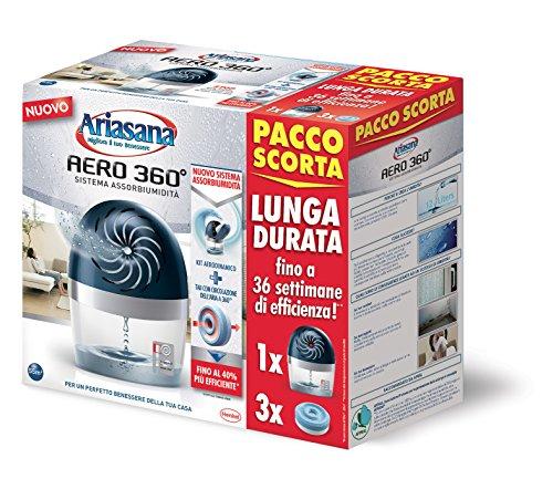 Ariasana Aero 360° Kit Tab450GX3 Pacco Scorta