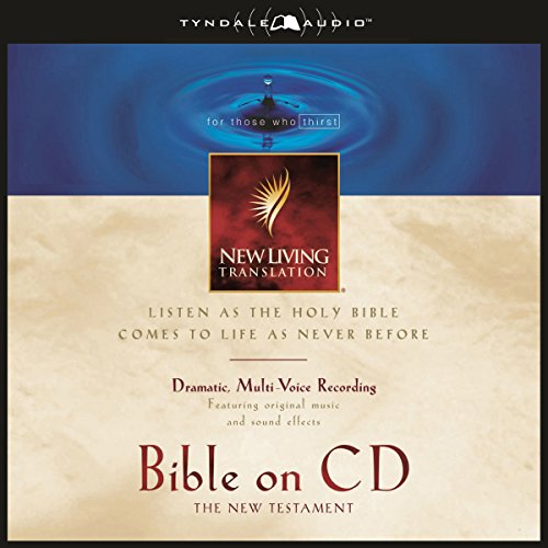 Bible on CD NLT New Testament audiobook cover art