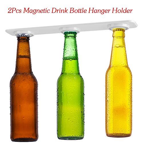 2piezas Magnético cerveza soporte, Soporte magnético Botelleros Accesorio de cocina flotante